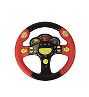 Руль Тачки + 3 машинки Kronos Toys HT661 Черно-красный , фото 1