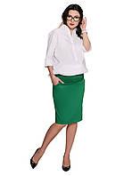 Спідниця-олівець One Size by Elena Kravets S Зелена , фото 1