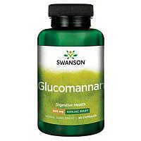 Регулятор аппетита - Глюкоманнан / Glucomannan (Konjac Root), 665 мг 90 капсул