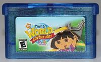 "Картридж на GBA ""Dora's World Adventure"""