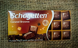 Шоколад Schogetten Caramel Brownie 100 gramm