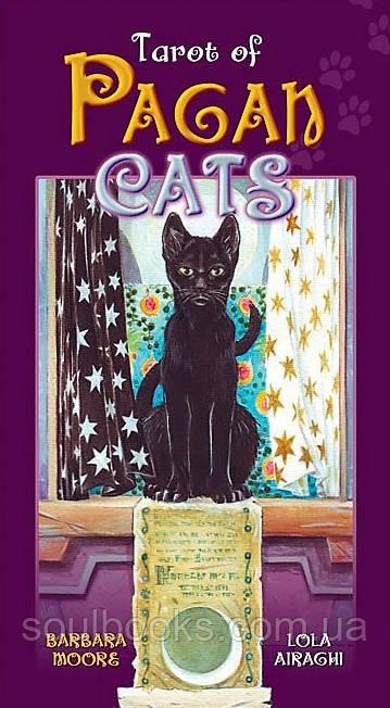 """Карты Таро """"Tarot of Pagan Cats"""" (Таро Языческих Кошек)"""
