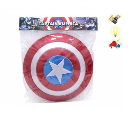 Щит Супергероя 2137 Captain America (світло, звук)