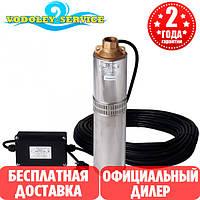 Скважинный насос Водолей БЦПЭ 0,32 - 40У ( кабель 25 метров )