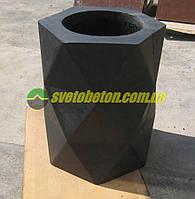 """Урна уличная бетонная для мусора недорого, стационарная из бетона для улицы красивая парковая урна """"УРБАН""""."""