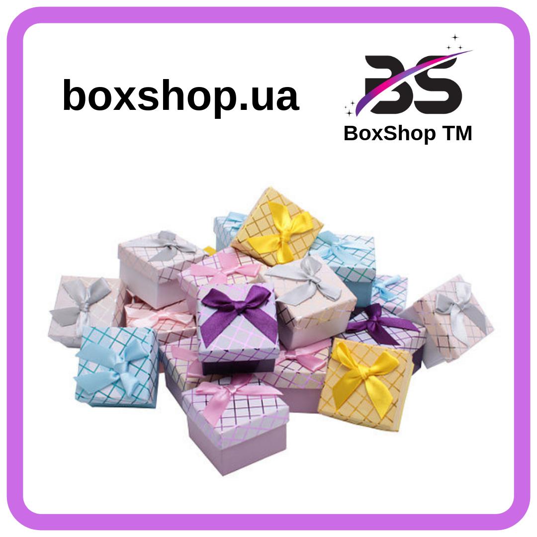 Коробочка для кольца Сarton Box 01-04 Mix Ромб BoxShop TM