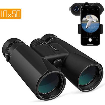 Бинокль HD мощный APEMAN 10X50  с ночным видением водонепроницаемый, фото 2