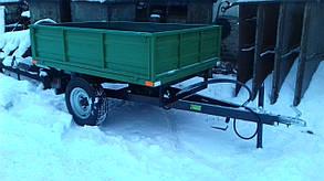 Прицеп-самосвал для мини трактора до 35л.с