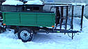 Прицеп-самосвал для мини трактора до 35л.с, фото 4