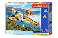 Пазл Castorland Пожарный самолет 300 элементов 026
