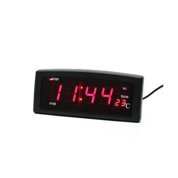 Електронні годинники Caixing CX-818, червоні