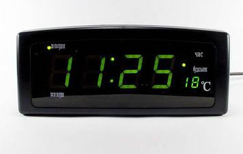 Настольные часыCaixingCX-818,зеленые