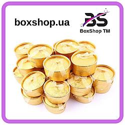 Коробочка для кольца Овал Золото 5,8*4,5*3,5 см