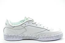 Кроссовки женские в стиле Reebok Club C 85 Leather, White\Белые, фото 2