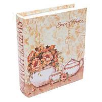 Шкатулка книга BST 490204 27х23х7 см разноцветная