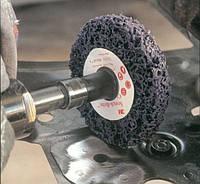 Зачистной круг 3М Scotch-Brite Roloc+ XT-ZR S XCS 100 мм х 13мм . фиолетовый.05814. , фото 1