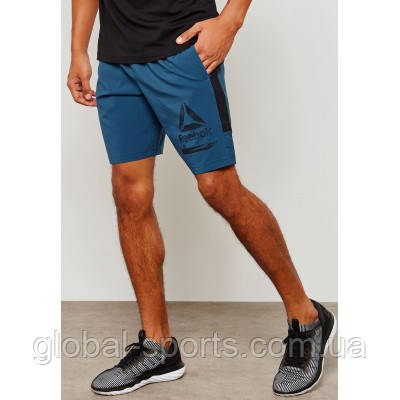 0ac4004f69b84 Мужские шорты Reebok Workout Ready Graphic (Артикул:D94271), цена 1 190  грн., купить в Харькове — Prom.ua (ID#852774137)