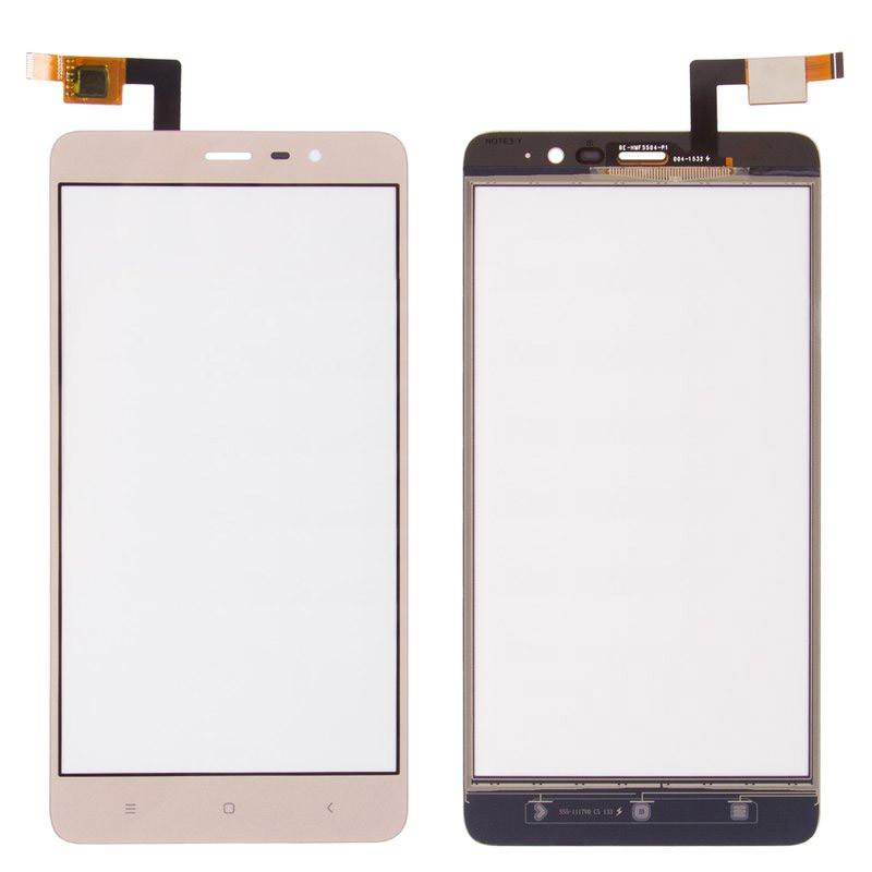 Сенсорный экран (тачскрин) Xiaomi Redmi Note 3 Special Edition (149 x 73), золотистый