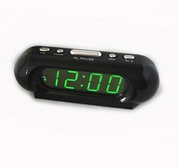 Годинник Vst 716-2, зелені LED