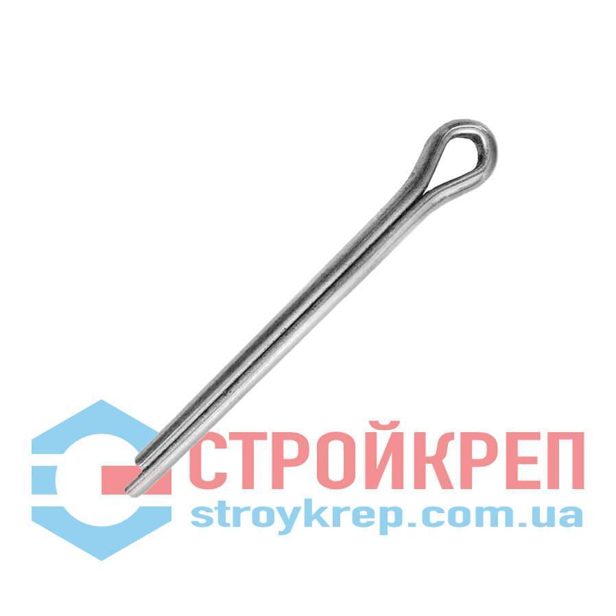 Шплинт DIN 94, цинк белый, 3,2х20