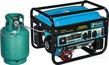 Газовые генераторы 5-6 кВт