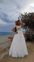 Весільна сукня з євросітки