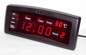 Настільні годинники Caixing CX-868, червоні