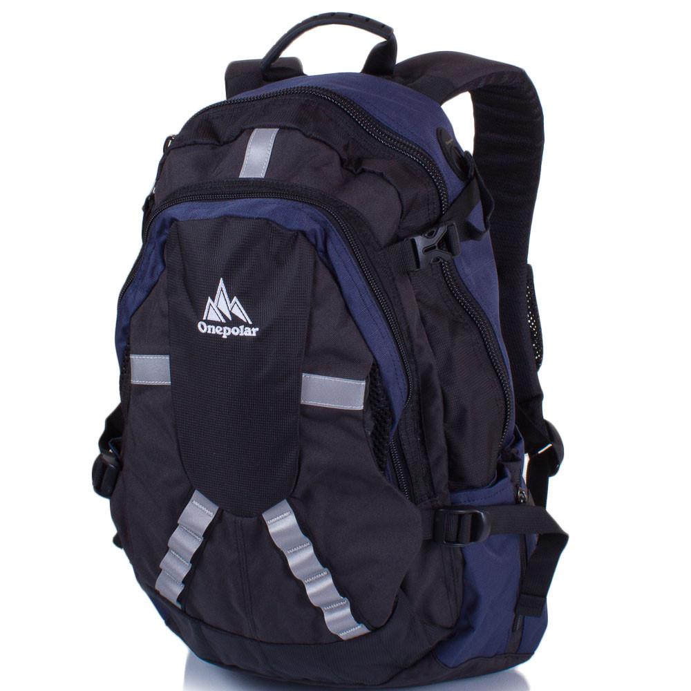 e869b905ad46 Мужской рюкзак Onepolar 30 л Синий (W1017-navy), цена 985,60 грн ...