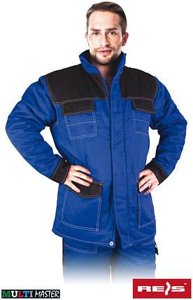 Куртка утепленная рабочая REIS Польша (рабочая зимняя одежда) MMWJL NB, фото 2