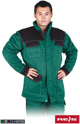 Куртка утепленная рабочая REIS Польша (рабочая зимняя одежда) MMWJL ZB, фото 2