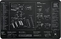 Коврик настольный Glock GlockGen4 чёрный