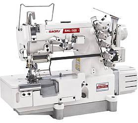 Baoyu BML-500D-05, распошивальная машина с встроенным сервомотором и устройством для вшивания резинки
