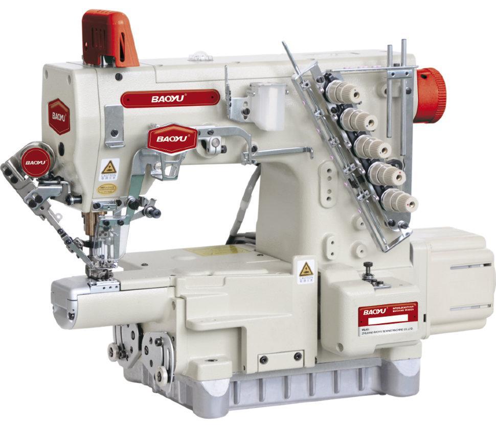 Baoyu BML-720-EWT, компьютерная распошивальная машина с компактной цилиндрической рукавной платформой