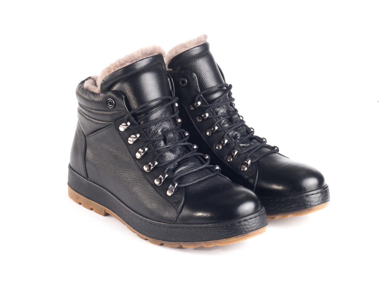 Ботинки Etor 8763-129 черные