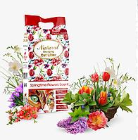 Індіан Кет Літтер Indian Cat Litter Springtime Flowers наповнювач з ароматом весняного букета 10 кг