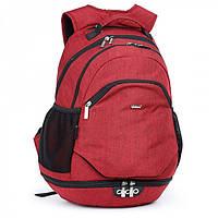Красный молодежный рюкзак для девушки Dolly 384