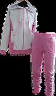 Спортивный костюм из французского трикотажа для девочки. 122
