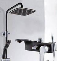 Душевая стойка с лейкой и смесителем в ванную 0629