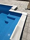 Копинговый камень угловой 30 см бортовой для бассейна, фото 3