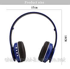 P45 wireless headphone в стилі monster beats solo, Bluetooth навушники з FM і MP3, червоні, фото 3