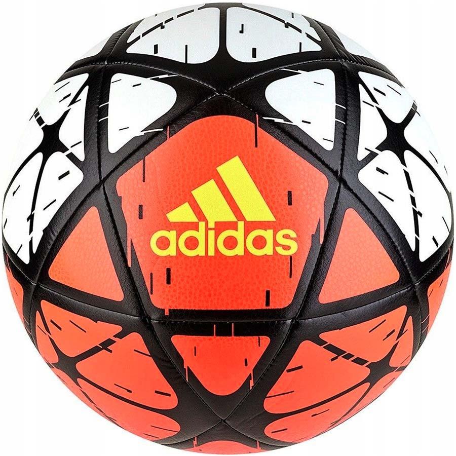 Мяч футбольный Adidas Glider CW4169 красно-черно-белый dc5ab9f4c3f28