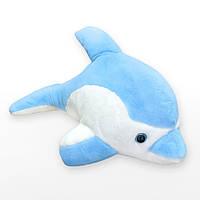 Мягкая игрушка Kronos Toys Дельфин 38 см Голубой