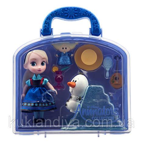 Набор Эльза Disney Animators' Collection Elsa Mini