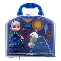 Набор Эльза Disney Animators' Collection Elsa Mini , фото 1