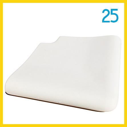 Копинговый камень угловой наружный 25 см