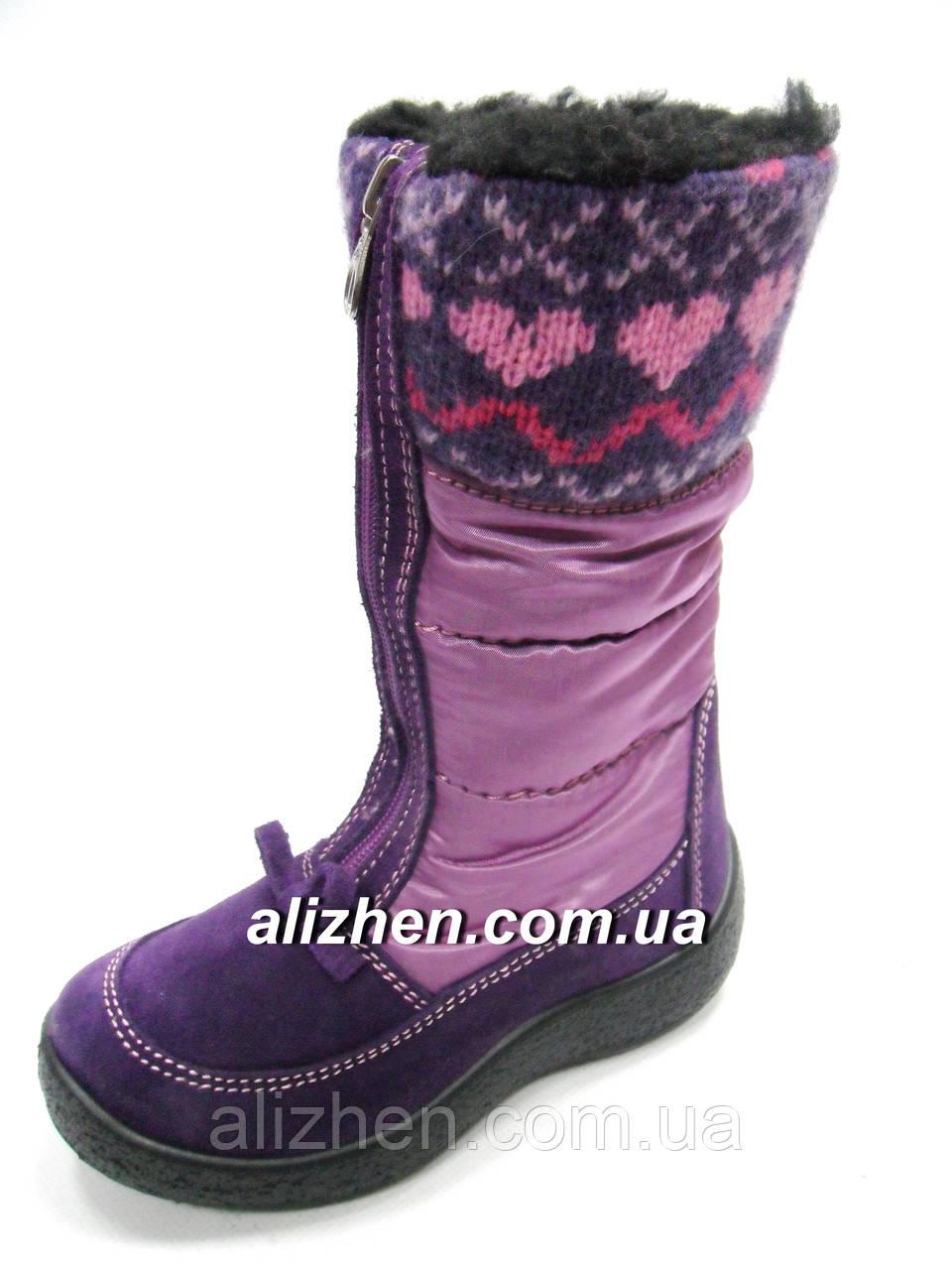 Зимние мембранные детские сапожки, ботинки для девочки тм FLOARE, размеры 27.
