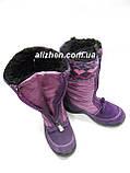 Зимние мембранные детские сапожки, ботинки для девочки тм FLOARE, размеры 27., фото 4