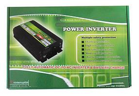 Перетворювач INVERTER 9000W 12/220 перетворювач електрики,інвертор напруги постійного струму, фото 2
