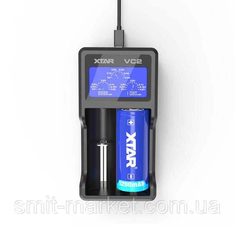 Профессиональное зарядное устройство XTAR VC2