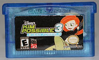 "Картридж на GBA ""KIM POSSIBLE 3"""
